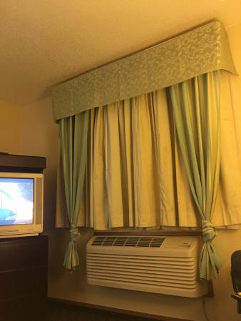 Super 8 Irving DFW Airport/south: Almost would have rather slept in the airport, disgusting room.