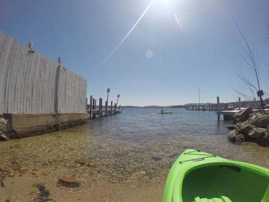 Wolfeboro, NH: Free Kayaking rentals from the Windrifter - was so much fun!