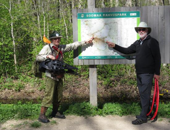 Wilderness Experiences in Soomaa National Park: Edu loves Soomaa National Park and eagerly shares his wealth of knowledge.