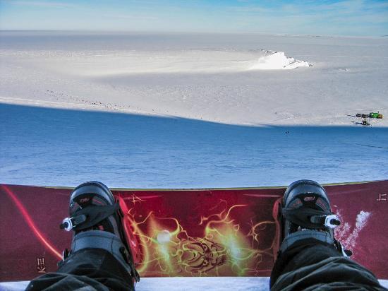 McMurdo Station: Snow Boarding Scott Base