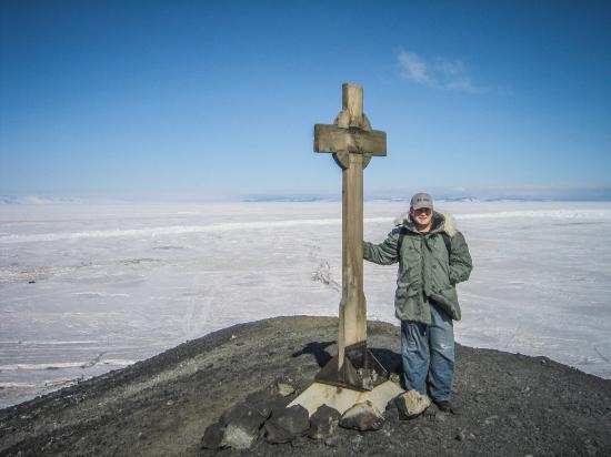 McMurdo Station: Scott Hut Point
