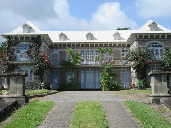 Saint-Pierre, Μαρτινίκα: le chateau