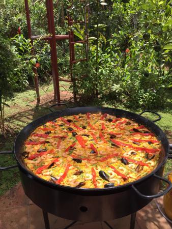 San Marcos, Никарагуа: paella