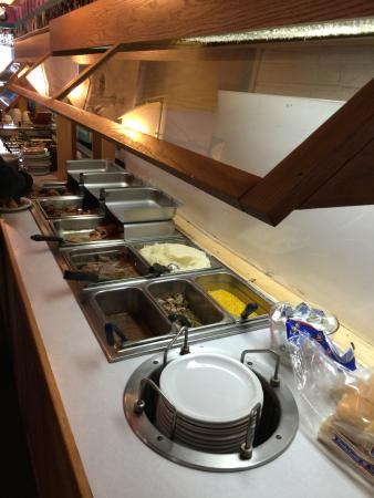 Rochester, IN: The Buffett - plenty of food and all of it good