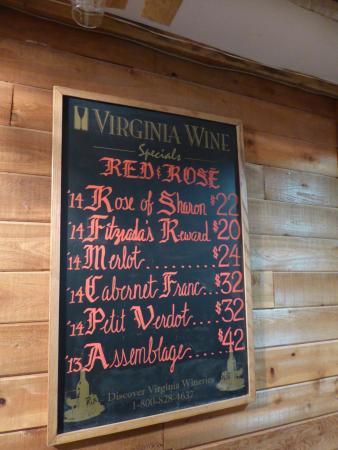 Leesburg, VA: Red Wines