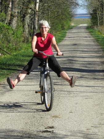 Haeska, Estonia: Bicycles are available to use - free!