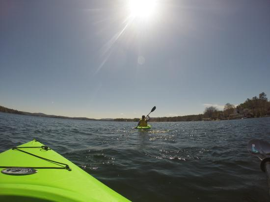 Wolfeboro, Nueva Hampshire: Free Kayak usage from the resort
