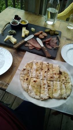 Ovid, estado de Nueva York: Cheese and meat tray