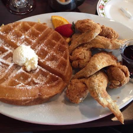Owings Mills, MD: Chicken and Waffles.