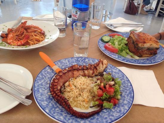 Thalami: Grilles octopus