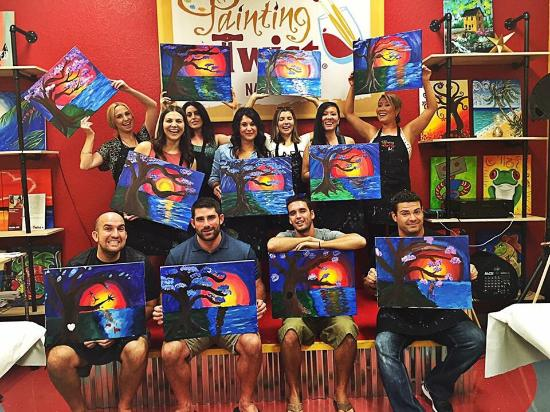 Funny Faces Picture Of Painting With A Twist Naples Tripadvisor