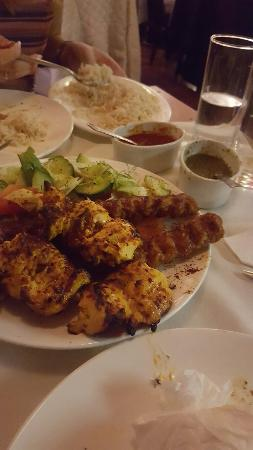 Kabul City Restaurant: Beautiful food.