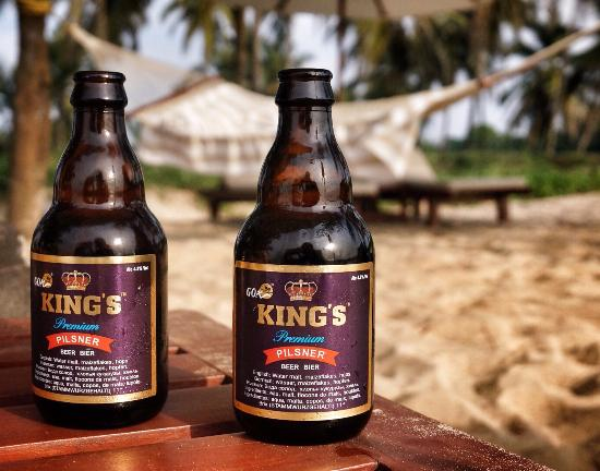 The Leela Goa: King's beer is one of the best and you can only find it in Goa