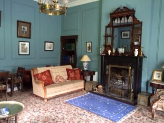 Newpark House: Large living room. Declan will build a fire if asked.
