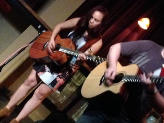 Media, PA: Danika Holmes & Jeb, a wonderful,bluesy voice and Jeb, a master on the Guitar.