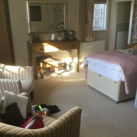 Church Stretton, UK: A corner of our double aspect room