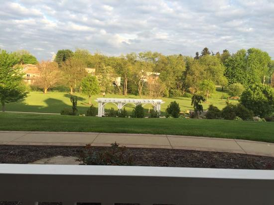 Berlin, OH: View from our patio early evening