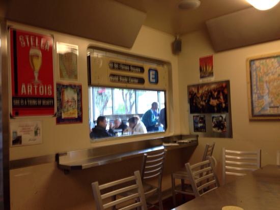A Slice of New York - Sunnyvale: E Train car