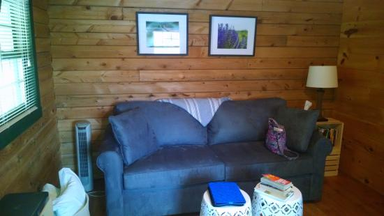 Romulus, NY: Living room