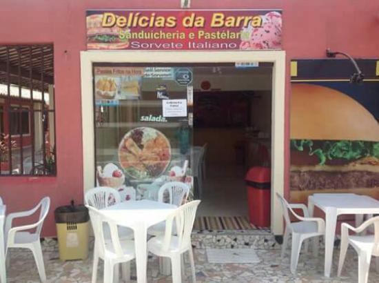 Delicias da Barra: Delícias da Barra sanduícheria  , pastelaria, self service de sorvete artesanal italiano e palet