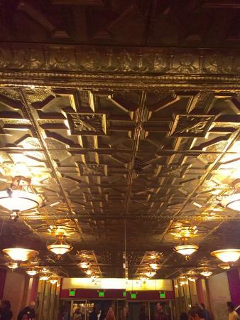 Million Dollar Theater : Ceiling