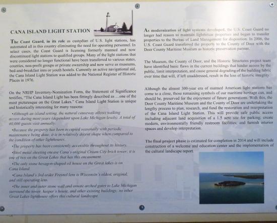 Baileys Harbor, WI: Some general light info