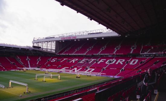 View Towards Stretford End Picture Of Old Trafford