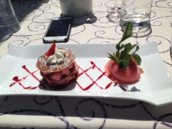 Le Bourget-du-Lac, Fransa: le dessert