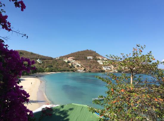 St. George, Grenada: View from the veranda