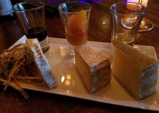 Greer, SC: Chef's Cheese Plate