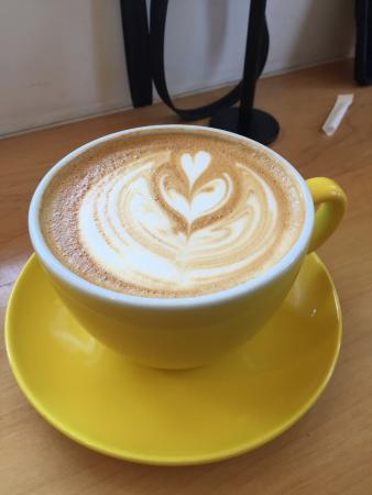 Travelers Rest, Carolina del Sur: Latte from Tandem