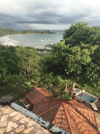 Punta Gabriela: View from treehouse