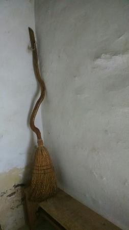 Ben Lomond Manor House & Old Rose Garden: Broom in the slave quarters.