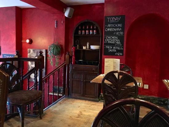 San Gennaro Italian Restaurant Close To Battery Park And Pestana Bridge Hotel