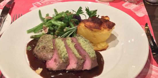 Central Hotel Wolter Restaurant: The tenderest lamb we have ever tried.