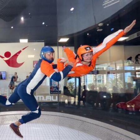 Guldkusten, Australien: About to fly high!