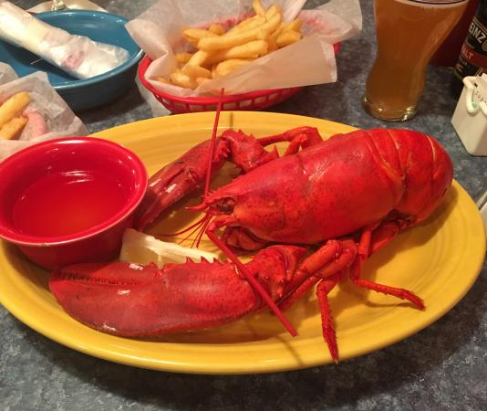 West Boylston, MA: Yummy tasty Lobsta'
