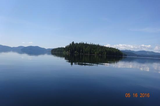 Coolin, ID: Island on Priest Lake