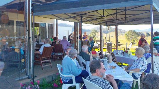 Kilcoy, Australien: The Angus steak meal was cooked to perfection. The venue has great views of the surrounding coun