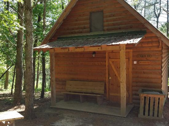 Whitewater Express   Ocoee Camp: Deluxe Cabin