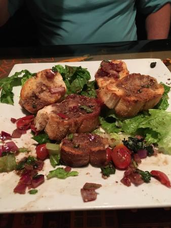 Lombardi S Italian Restaurant And Tavern 7 95 Bruschetta So Soggy With A Ton Of Balsamic