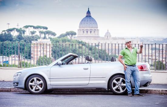 Rome by Bike: Обзорная экскурсия по Риму на Кабриолете