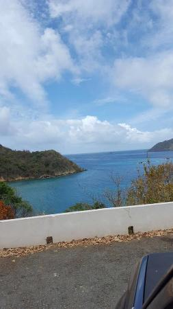 Speyside, Tobago: View from the main entrance lookout