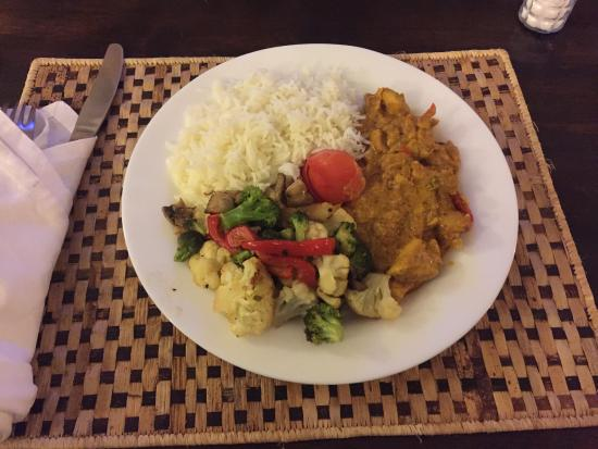 Gigiri Homestead: Delicious and generous meal