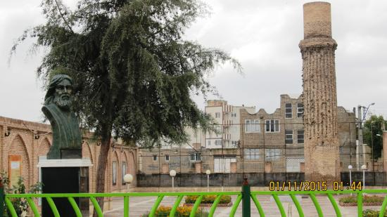 Khoy, Iran: Tomb of the great Sufi sain Shams-i-Tabrizi