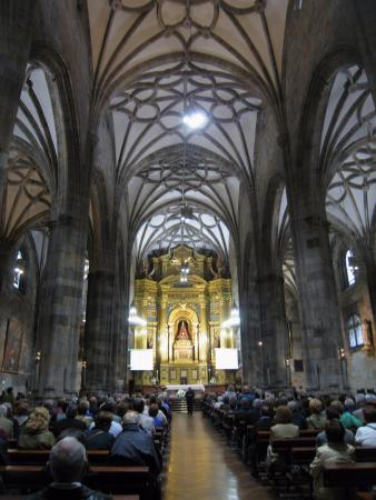 Interior Picture Of Basilica Of Begona Bilbao Tripadvisor
