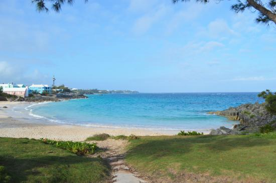 Smith's Parish, Bermuda: view of John Smith Bay in evening