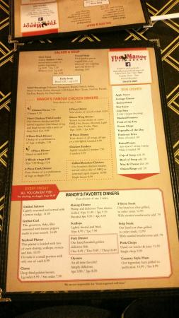 Strasburg, OH: Current menu