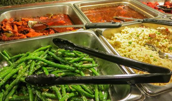 Hunan Garden- Fresh Asparagus-Fried Rice-Spicy Chicken Vegetables ...