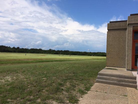 Kill Devil Hills, Carolina del Norte: the field markers-better in person
